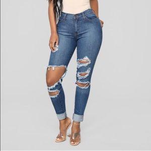 Beach Bum Medium Wash Jeans